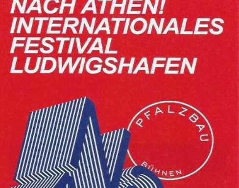 "Konzert Plakat ""Nach Athen"""
