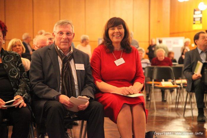 Jutta Steinruck und Udo Scheuermann