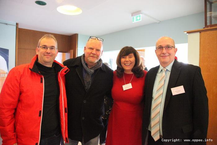 Die SPD Mannschaft mit OB Steinruck