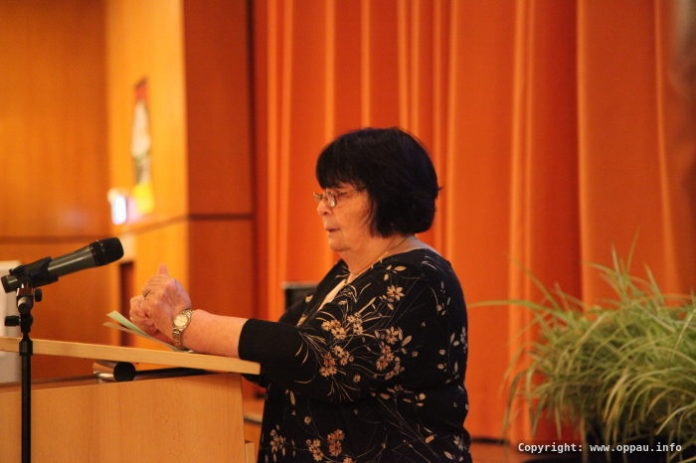 Gisela Fulst - Vorsitzende des Trägervereins Bürgerhaus Oppau und des Sängerbundes
