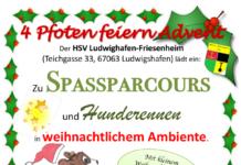 Plakat HSV Weihnachtsmarkt