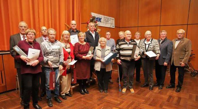 VdK Mitgliederehrung im Bürgerhaus Oppau (Bild privat)