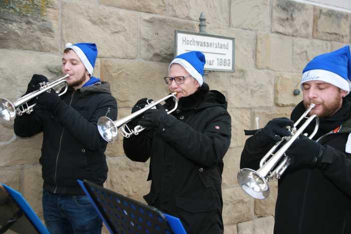 Die Heartliner umrahmen das Fest musikalisch