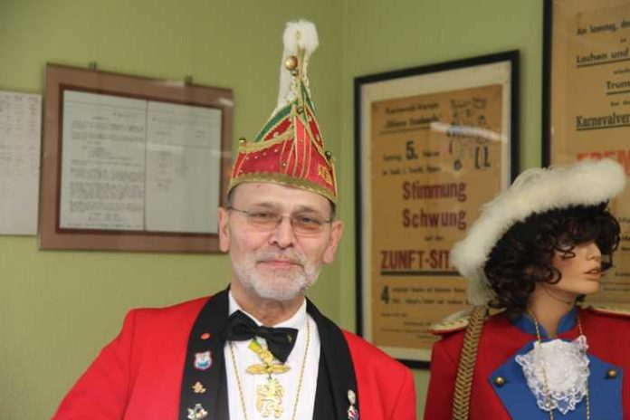 Horst Fischer Präsident des KOD und Fastnachts-Urgestein