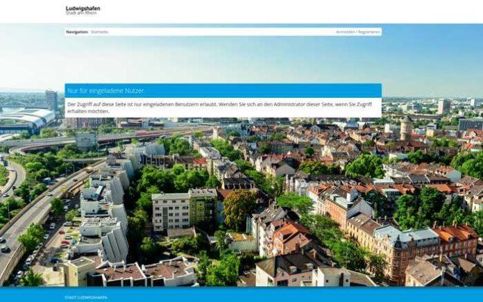Geht am 01.04.2019 online - Der Mängelmelder der Stadt Ludwigshafen. Screenshot www.ludwigshafen.maengelmelder.de