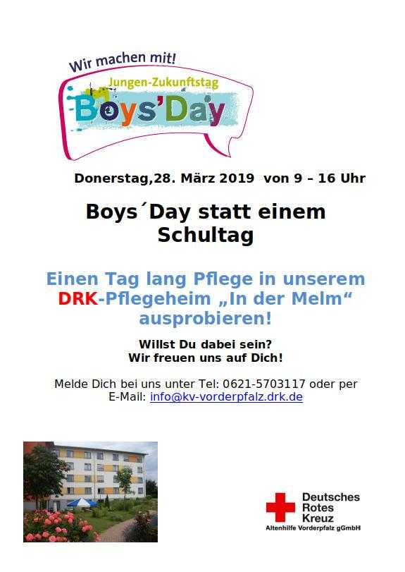 Boys Day am 28.03.2019