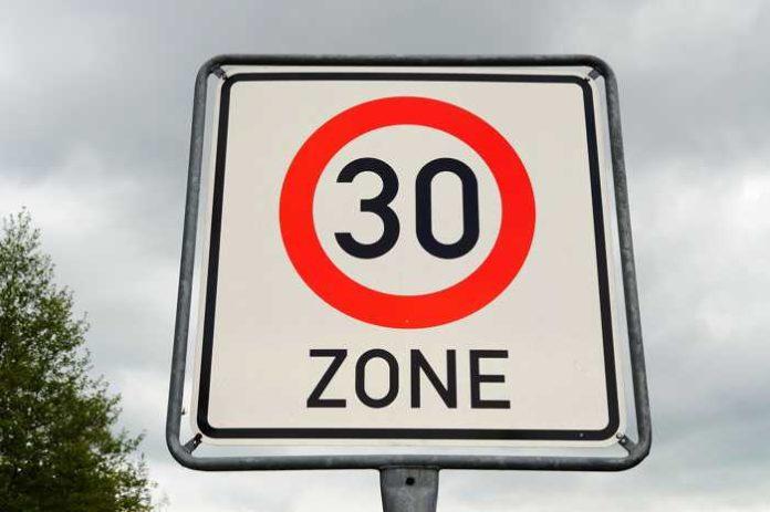 Im gesamten Ortsbezirk gilt: Tempo 30