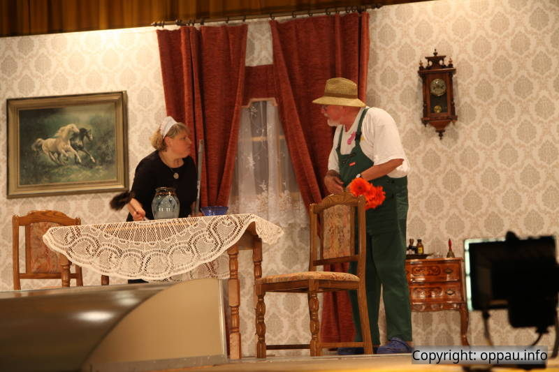 Haushälterin und der Gärtner