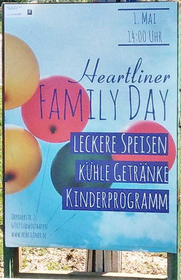 Die Heartliner laden zum Family-Day ein