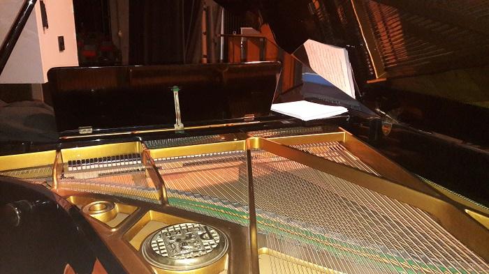 Bei ausgewählten Konzertstücken wird auch der Kompaktflügel von der Bühne des Oppauer Bürgerhauses erklingen Foto:MBO