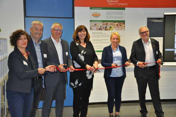 Strahlemann-Stiftung an der IGS in Edigheim Quelle: Strahlemann-Stiftung