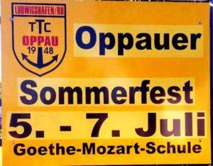Oppauer Sommerfest des 1.TTC @ Schulhof der Goethe-Mozart-Schule
