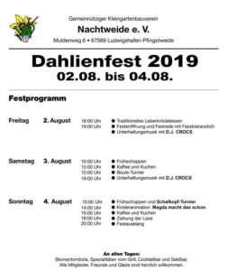 Dahlienfest 2019