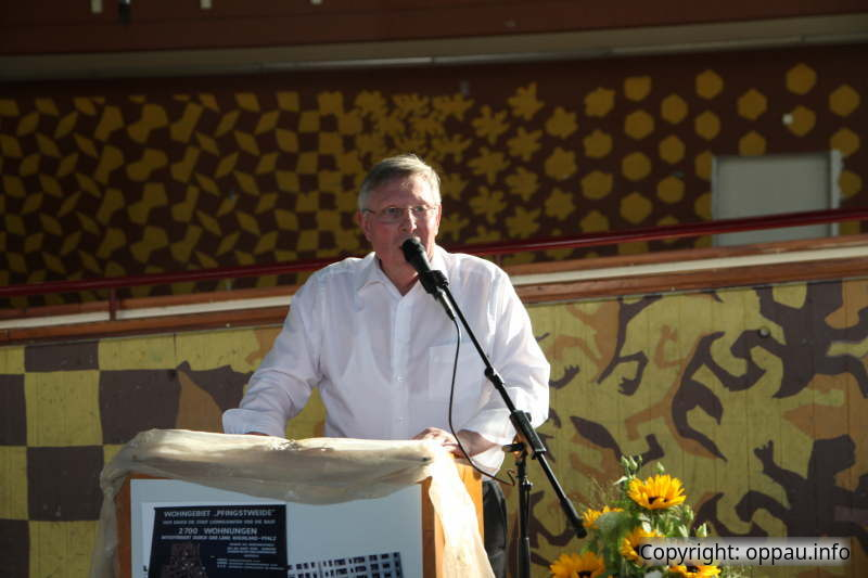 Der frühere Ortsvorsteher Udo Scheuermann