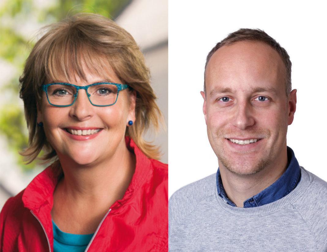 Heike Scharfenberger und Gregory Scholz SPD