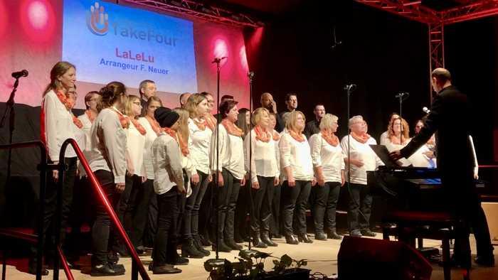 Junger Chor TakeFour in Harthausen