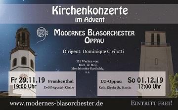 MBO: Plakat für die Kirchenkonzerte 2019