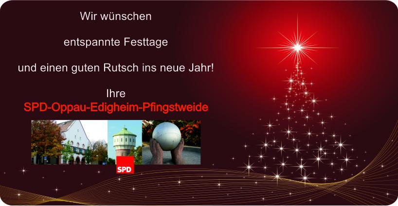 Weihnachtsgruß SPD OEP