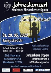 "Jahreskonzert des MBO Kurpfalz Oppau - ""Kinderträume"" @ Bürgerhaus Oppau"