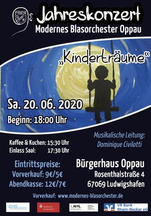 MBO Plakat zum Jahreskonzert 2020 Bildrechte: MBO