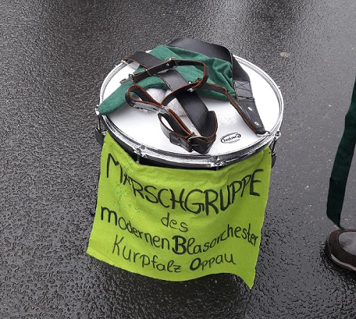 MBO Marschgrupppe Trommel Foto:MBO