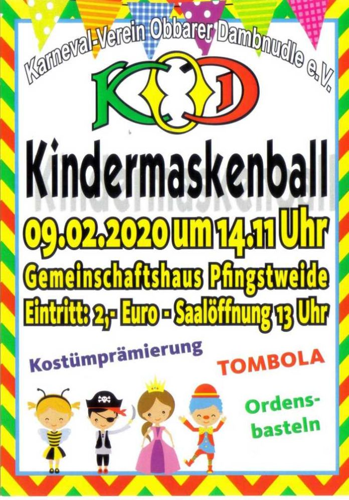 Kindermaskenball des KOD
