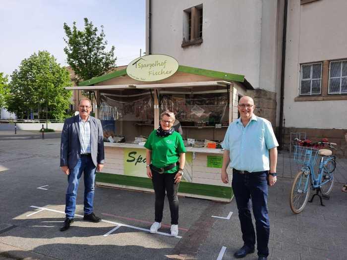 Friedrich Bauer, Susanne Korth, Frank Meier - Quelle: Oppau.Info