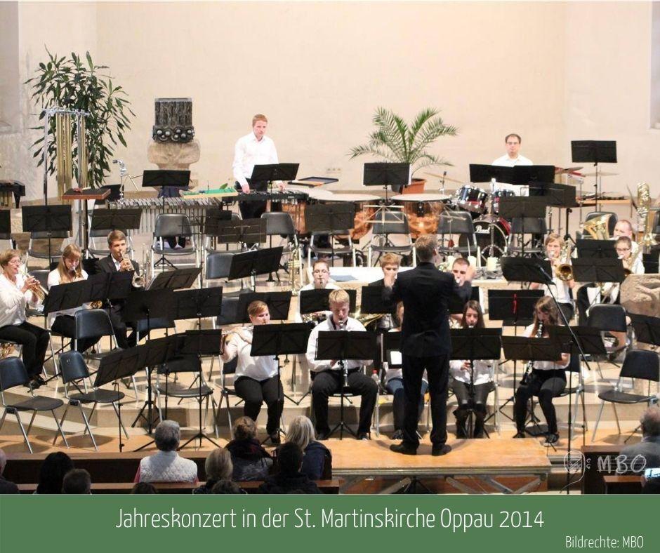 Beginner-Ensemble am Jahreskonzert 2014, Bildrechte: MBO