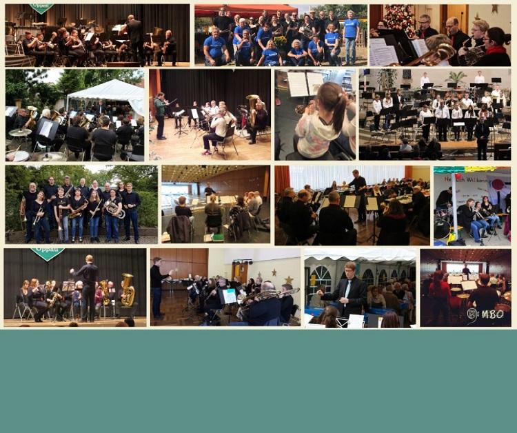 MBO-Ensemble Collage 10 JAhre Jubiläum Bildrechte: MBO